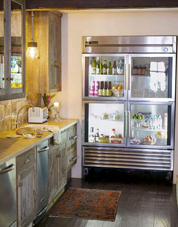 Can I have this fridge, please? I promise to always keep the interior look clean!