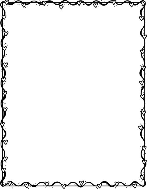 Art Borders Frames Black And Clip Hat And White