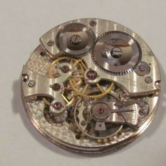 Pocket Watch Movement Diagram Drz 400 Wiring Antique H.w. Tisdall Non-magnetic 17 Jewel Manual Wind |