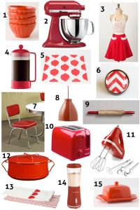 25+ best ideas about Red kitchen accents on Pinterest ...