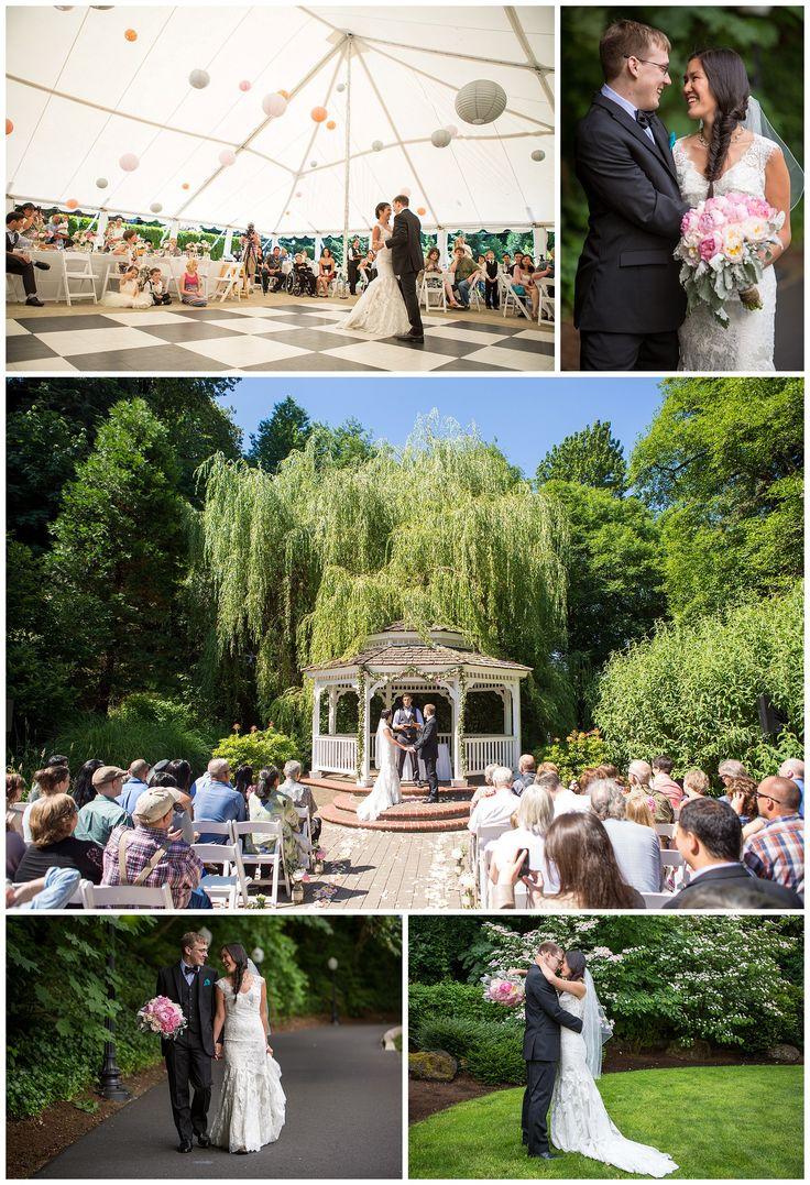 Abigails Garden wedding at the Abernathy Center in Oregon