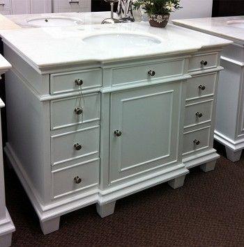 17 Best ideas about 42 Inch Bathroom Vanity on Pinterest  42 inch vanity Single sink vanity