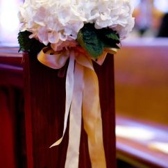 Wedding Chair Covers With Bows Upholstered Rocking Chairs For Nursery 26 Best Images About Wedding: Church Pew Decoration On Pinterest | Christmas Decorations ...