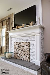 25+ best ideas about Fireplace cover on Pinterest ...