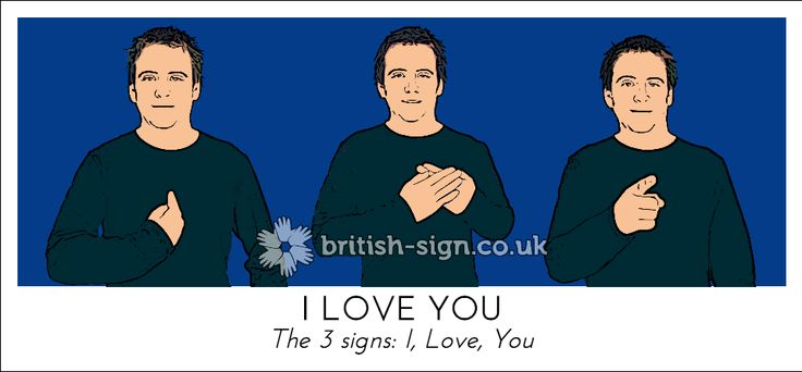 Bsl i love you bsl pinterest british sign language