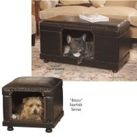 Decorator Ottoman Bed   Doggie Day   Pinterest   For dogs ...
