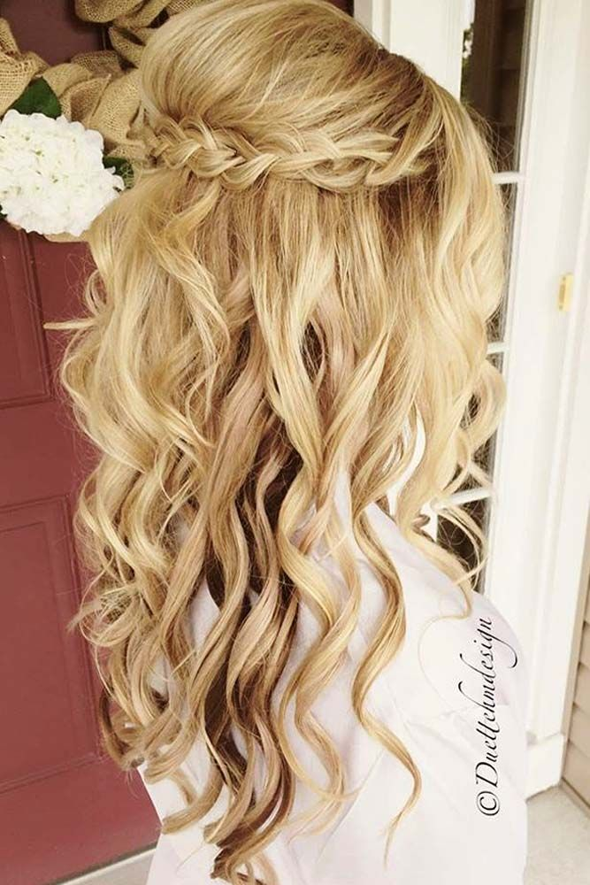25 Best Ideas About Prom Hairstyles Down On Pinterest