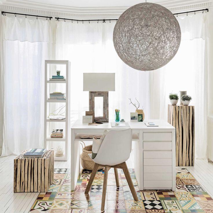 Chaise en polypropylne blanche Ice  Maisons du Monde  Nouvelle Dco pour la maison
