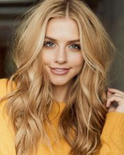 honey blonde hair ideas
