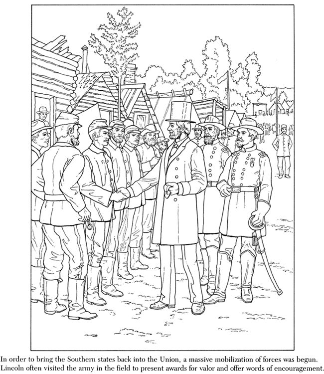 26 best images about Coloring Pages/LineArt Civil War on