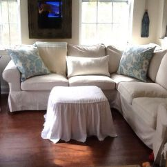 Sofa U Love Slipcovers Apartment Size Ikea Ektorp Sectional | For The Home Pinterest ...