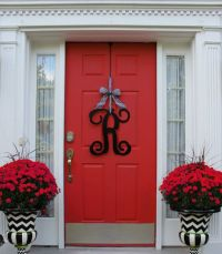 25+ best ideas about Door Monogram on Pinterest | Initial ...