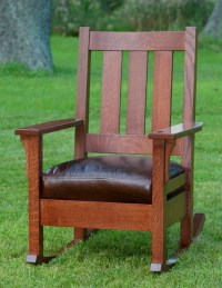 Child's Mission Style Rocking Chair Plans - WoodWorking ...