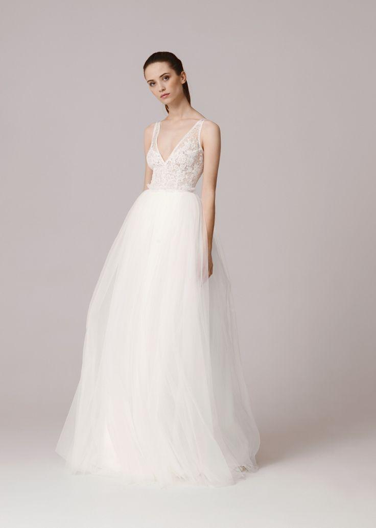 1000 ideas about Schlichte Hochzeitskleider on Pinterest  Hochzeitskleid hippie spitze