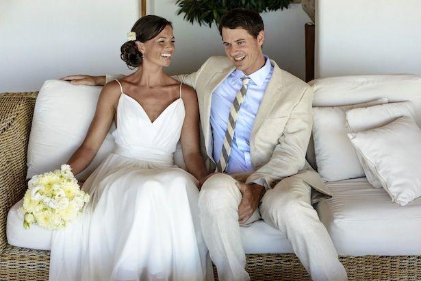 L'Elysee Custom Carol Hannah Wedding Gown -Sayulita