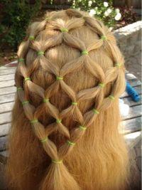 Abella's Braids: Fishnet tutorial | Hairstyle | Pinterest ...