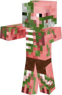 minecraft pigman skin   minecraft zombie pigman skin ...