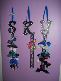 17 Best images about Cheer Bow Holders on Pinterest | Bow ...