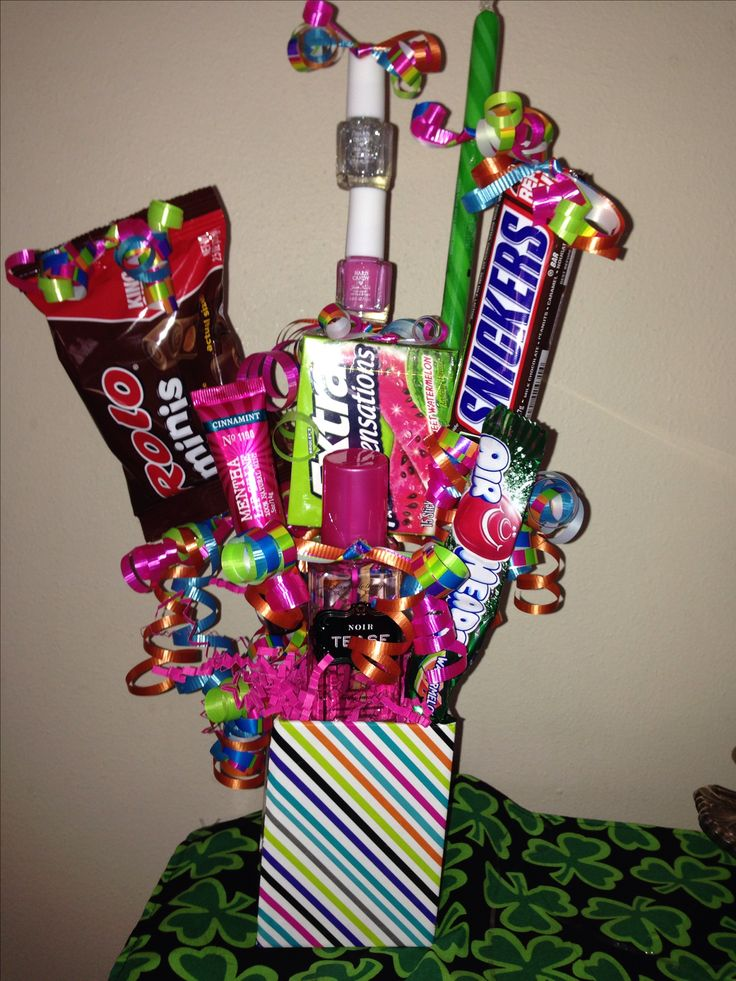 1000 Ideas About Teen Gift Baskets On Pinterest Gift