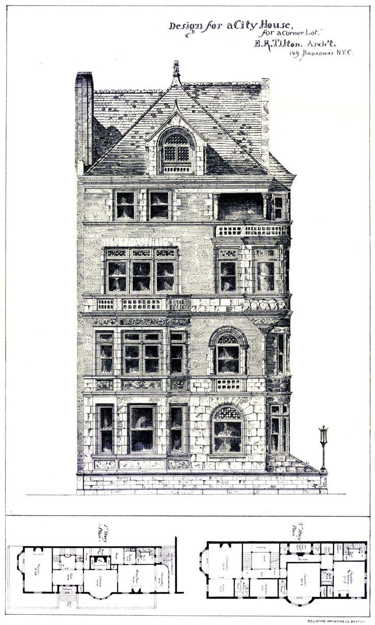 701 best Historic House Plans images on Pinterest