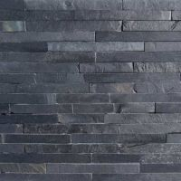 Black Slate Split Face Mosaic Tiles