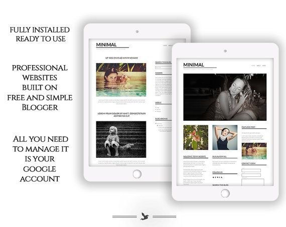 96 Best Images About TEMPLATE BLOGGER On Pinterest Fashion