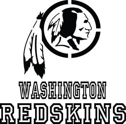 Washington Redskins Football Logo & Name Custom by