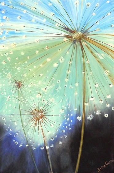 17 Best ideas about Dandelion Painting on Pinterest