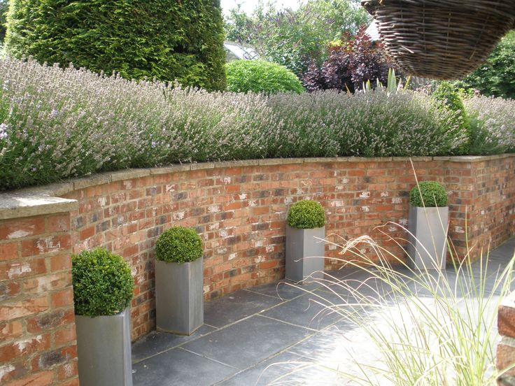 25 Best Ideas About Brick Wall Gardens On Pinterest Walled