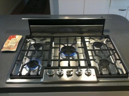Gas Stove Top With Pop Up Vent Google Search MCM
