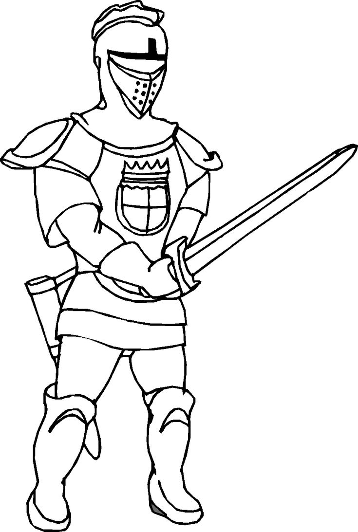 Coloring Pages For Kids Online Knight Coloring Page Fresh