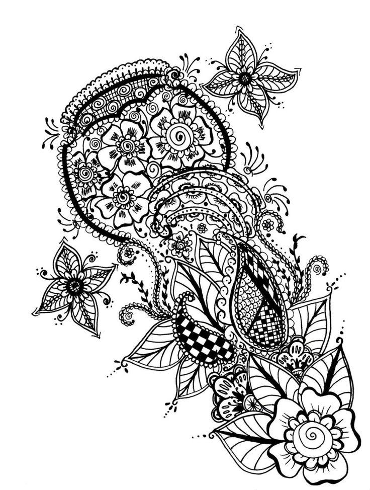 17 Best ideas about Elephant Henna Designs on Pinterest