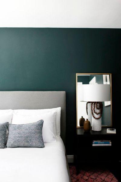 emerald green bedroom paint colors Best 25+ Dark green rooms ideas on Pinterest