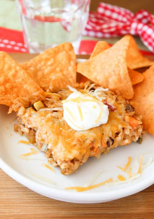 Cheesey Taco casserole – easy and versitile