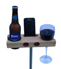Wine Glass Holder, beverage dock.- perfect for a gift ...