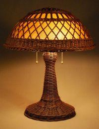 Silver Bay Wicker Studio - Handcrafted Wicker Lamps ...