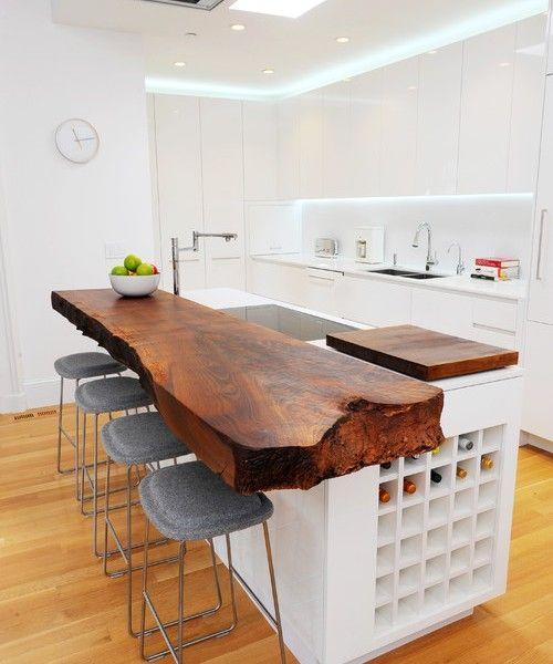 s kuche marmor kuche mit beton wand minimalistisch design l, Kuchen dekoo