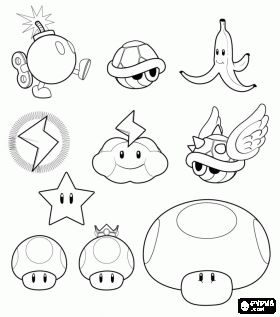 25 best images about Video Game Coloring Pages on