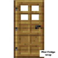 Minecraft Mini fridge Wooden door. Click on the image to ...
