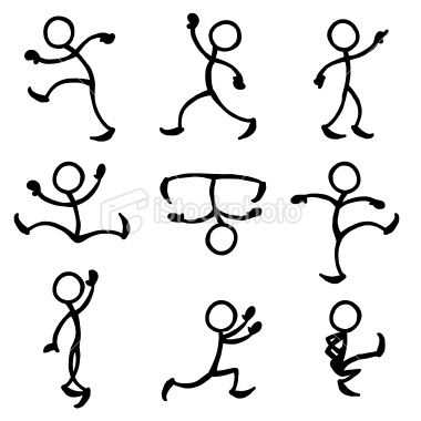 17 best images about Stick figures & simple art on