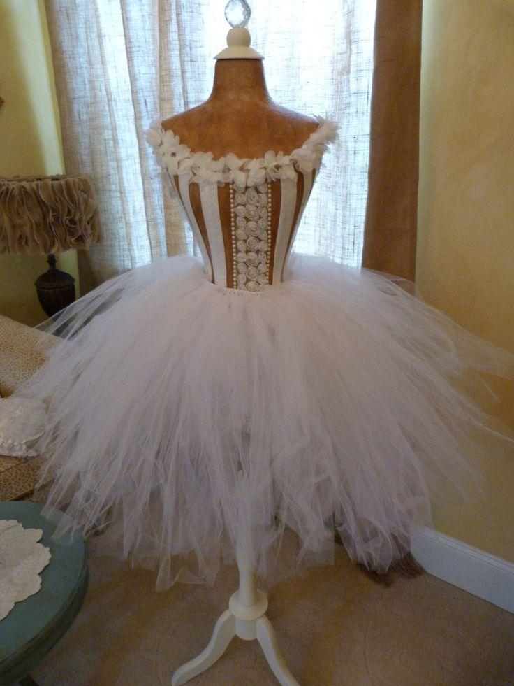 Vintage Inspired Dress Form Mannequin Wasp Waist Fashion Designer Ballet Lace Keepsake Corset