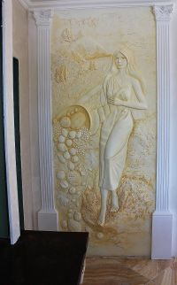 229 best Sculptured Bas Relief Wall Art images on Pinterest