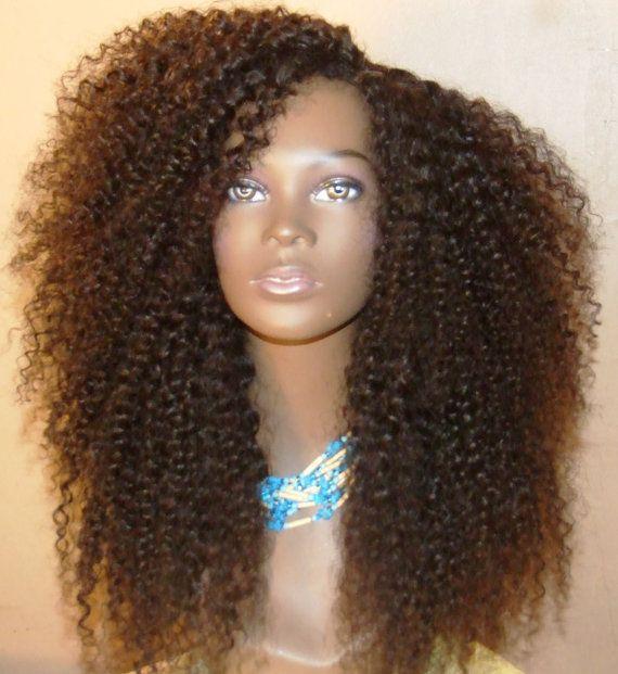 The Untamed Curl Virgin Diva Curl Kinky Curly U Part Wig
