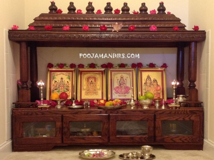 272 Best Images About Pooja Room Design On Pinterest Ganesh