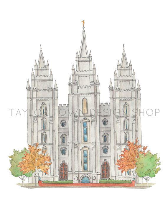17 Best Images About LDS Art On Pinterest Watercolor