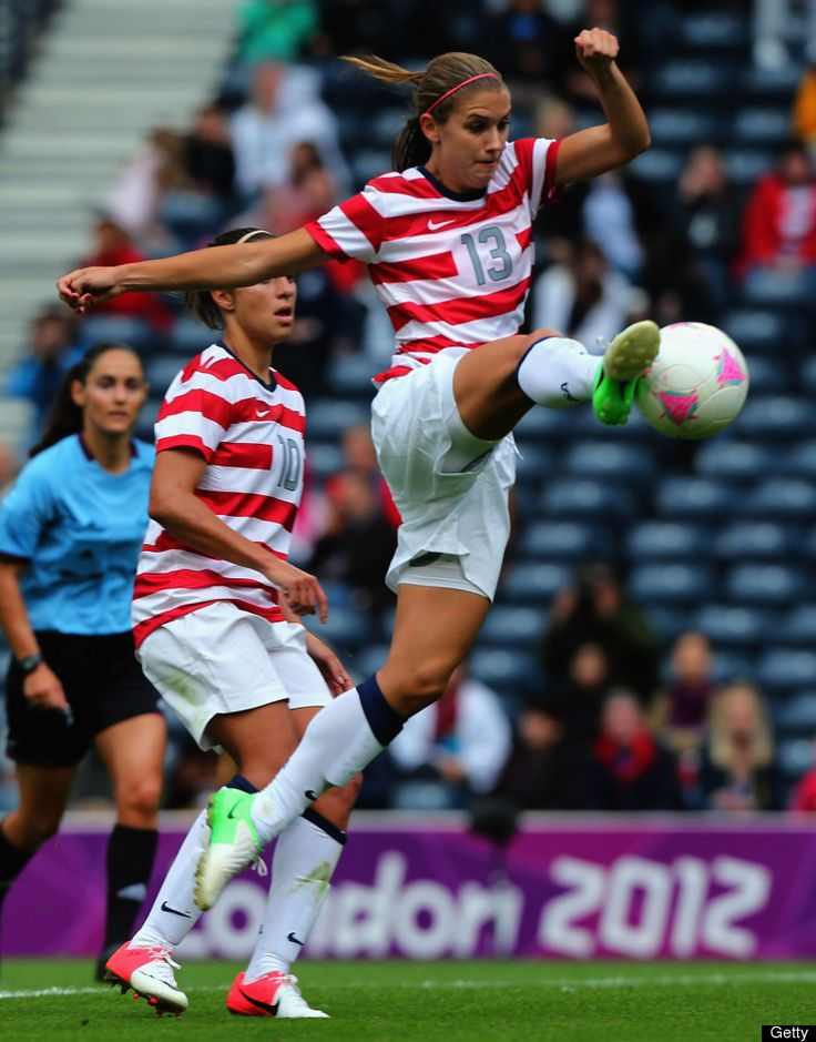 Alex in the uswnt soccer match versus columbia the