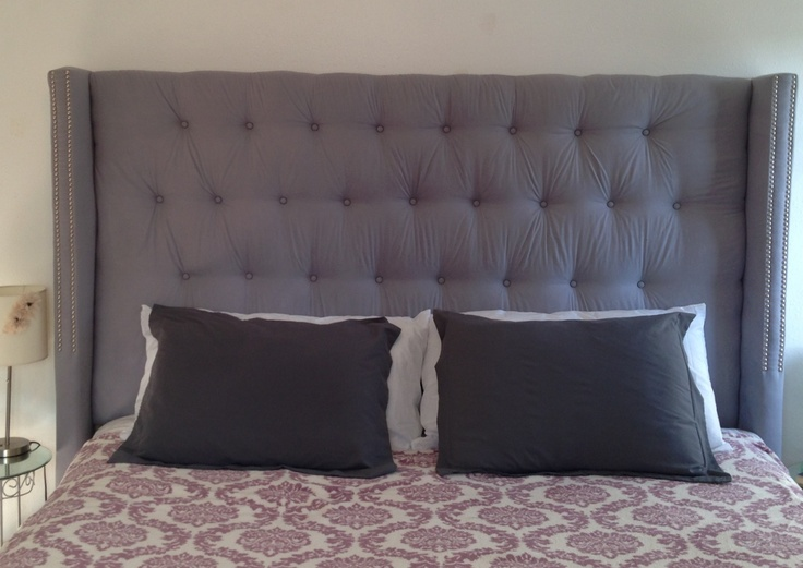 My Ultimate DIY Project King Size Tufted Wingback Headboard Using Scrap Wood And Fabric I Had