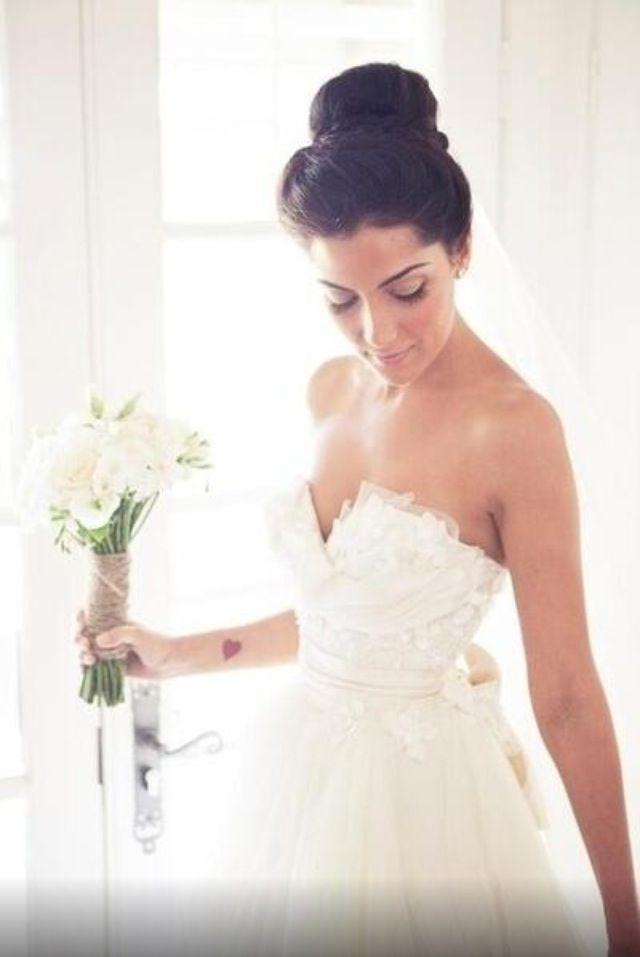 1000 images about Brautfrisuren fr kurzes und langes