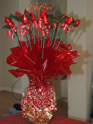 111 Best Images About Valentine Flowers With Candy On