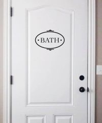 1000+ ideas about Bathroom Decals on Pinterest